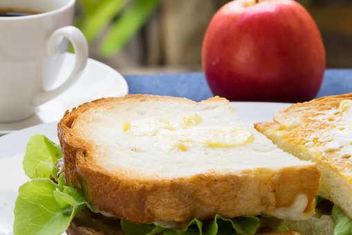 Spring Salad Toast