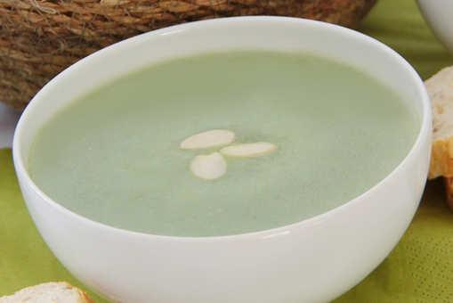 Basil and Almond Soup