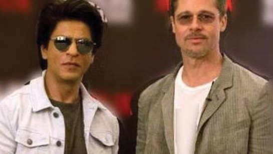 SRK offers to teach Brad Pitt some Bollywood jhatkas!