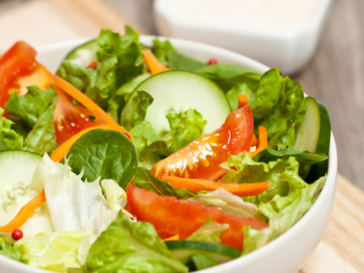 Chatpata Vegetable Salad Recipe: How to Make Chatpata Vegetable Salad  Recipe   Homemade Chatpata Vegetable Salad Recipe