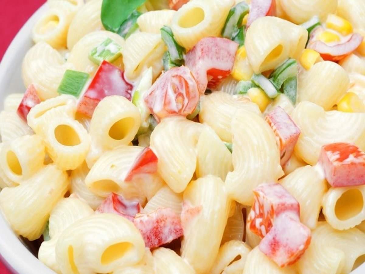 Macaroni Salad Recipe And Procedure