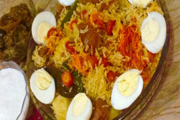 Vegetable-And-Beef-Pulao