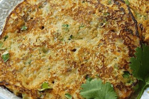 Savoury Oats Veggie Pancake