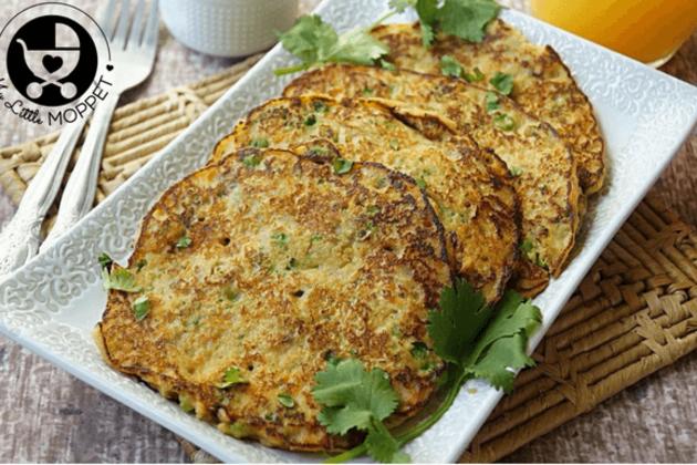 Savoury Oats Veggie Pancake 10