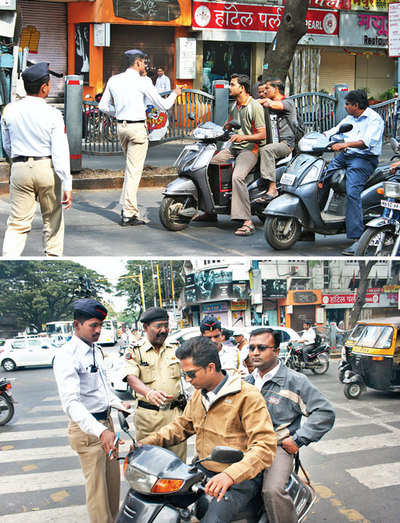 82% TRAFFIC VIOLATORS HAVEN'T BOTHERED TO PAY UP E-CHALLAN FINES