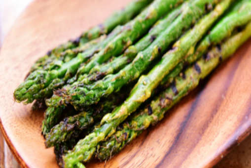 Grilled Asparagus with Ginger Juice