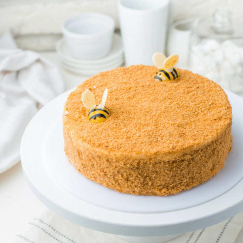 Honey Cake Recipe How To Make Honey Cake Recipe For Christmas At Home Homemade Honey Cake Recipe Times Food