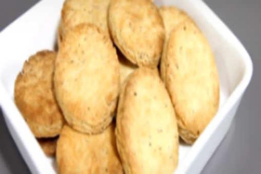 Sweet and Salted Ajwain Cookies