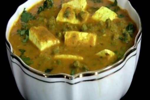 Hara Chana Paneer Curry