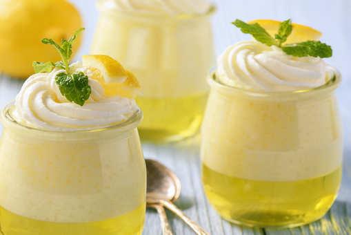 Lemon Coffee Pudding