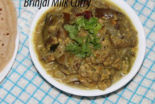 Brinjal Milk Curry