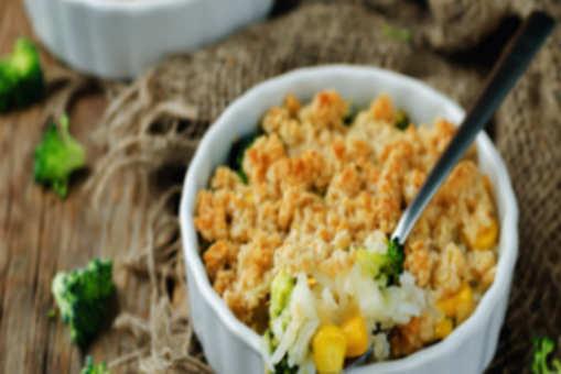Baked Rice Broccoli