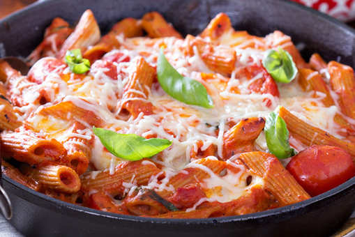 Baked Pasta in Red Sauce