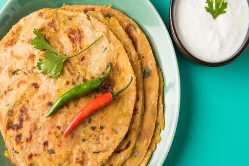 Mixed Flour Paratha