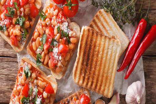 Kidney Beans Sandwich