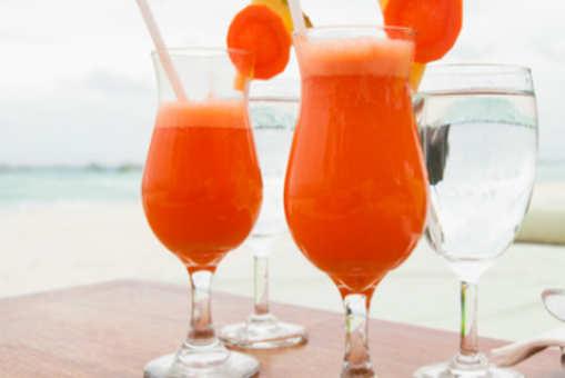 Pineapple Carrot Orange Juice