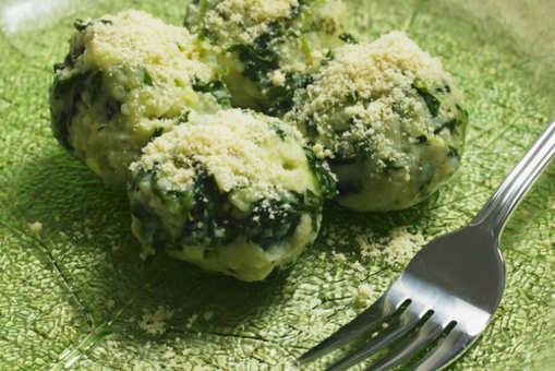 Cheese Spinach Dumplings