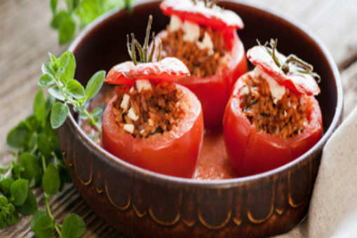 Frozen Stuffed Tomatoes