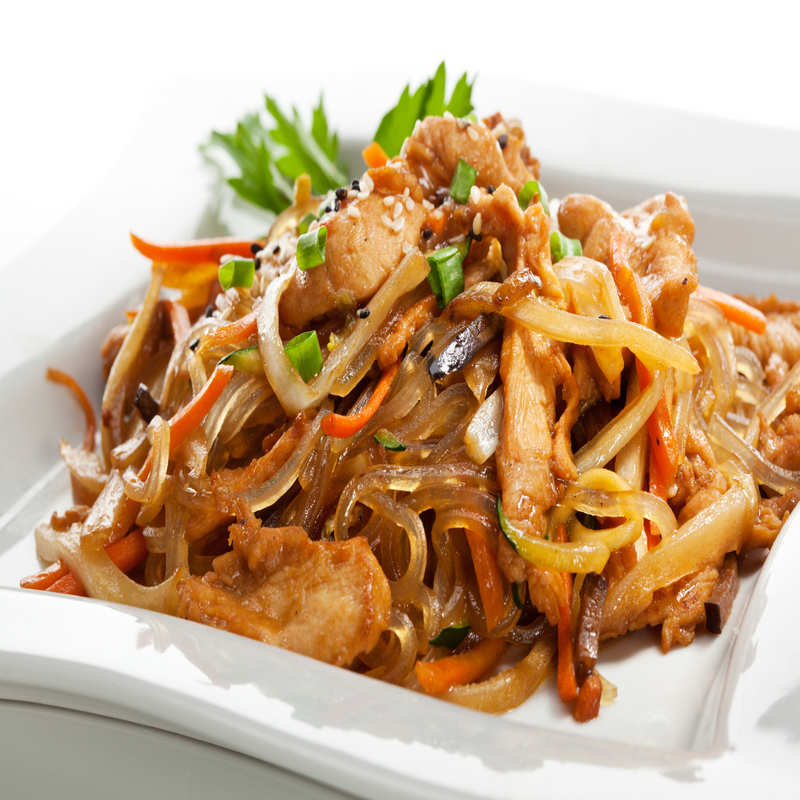 Rice Noodles With Chicken Recipe How To Make Rice Noodles With Chicken Recipe Homemade Rice Noodles With Chicken Recipe