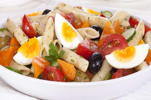 Egg Pasta Salad