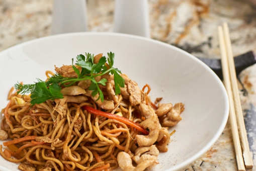 Egg Noodles with Chicken Liver