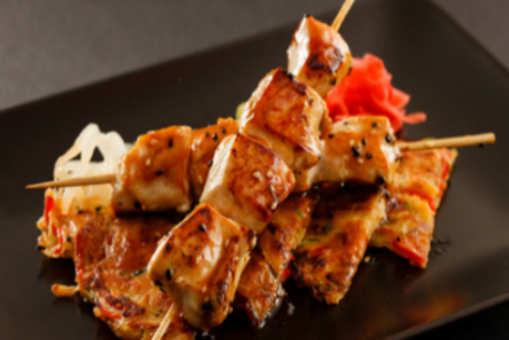 Ginger Chicken Kebab