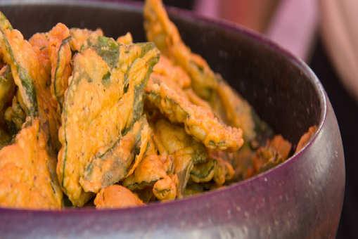 Healthy Palak Methi Fritter
