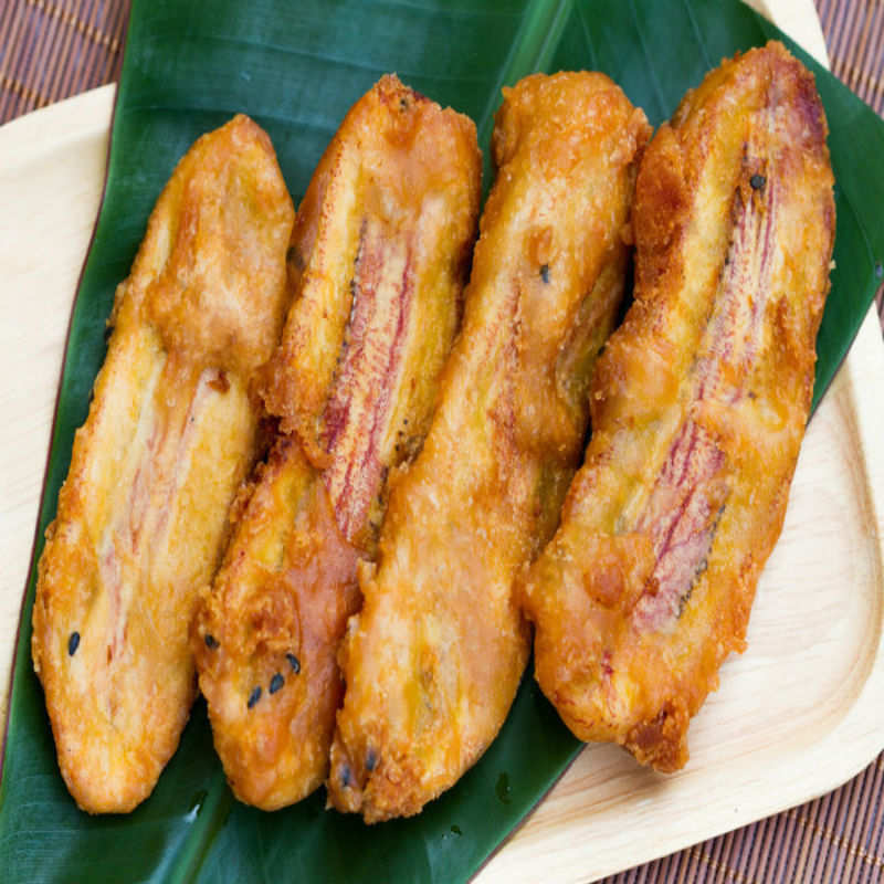 Unripe Banana Fritters Recipe How To Make Unripe Banana Fritters Recipe Homemade Unripe Banana Fritters Recipe