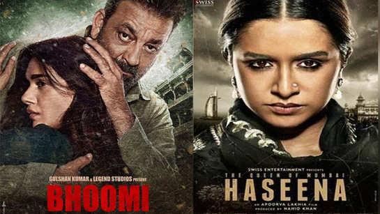 Shraddha Kapoor's 'Haseena Parkar' to clash with Sanjay Dutt's 'Bhoomi'