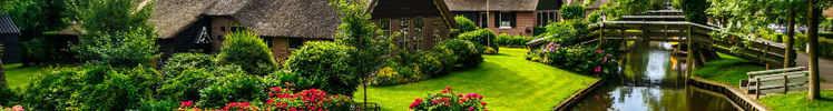 Giethoorn Sebuah Wilayah Di Belanda Ini Dikenal Sebagai 'The Little Venice'. Intip Keindahannya Yuk !