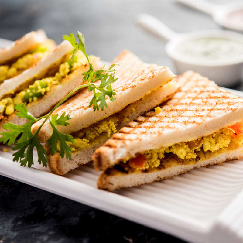 Grilled Paneer Sandwich With Cabbage Recipe How To Make Grilled Paneer Sandwich With Cabbage Recipe Homemade Grilled Paneer Sandwich With Cabbage Recipe