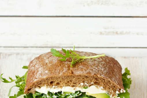 Cabbage Cucumber Sandwich