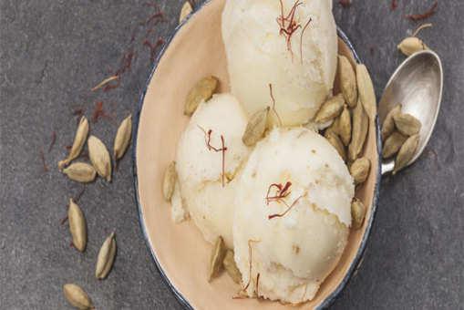Vegan Coconut Cardamom Ice Cream