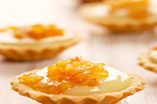 Creamy Orange Tart