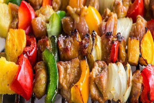 Mediterranean Grilled Chicken Kebab