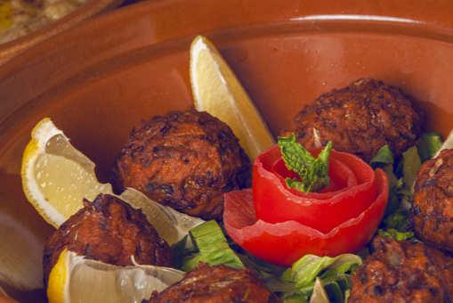 Brown Chickpea Kebab