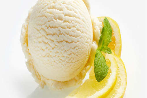 Lemon Ginger Sorbet