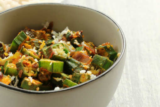 Bhindi with Coconut