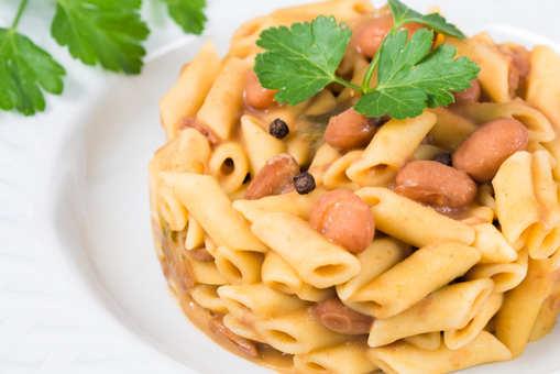 Pasta with Rajma