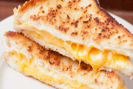 Egg And Cheese Grilled Sandwich