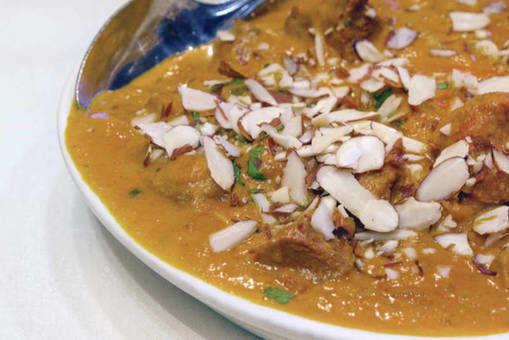 Lamb Almond Saffron Curry