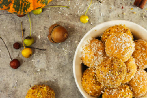 Coconut and Pumpkin Laddoo