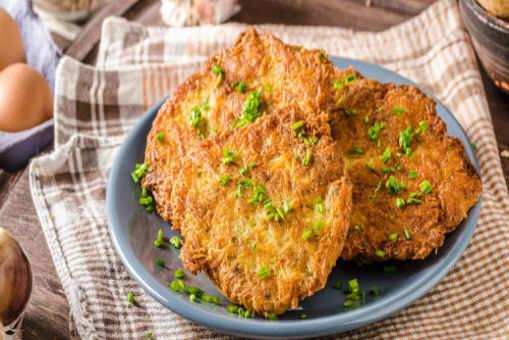 Potato Bajra Pancakes