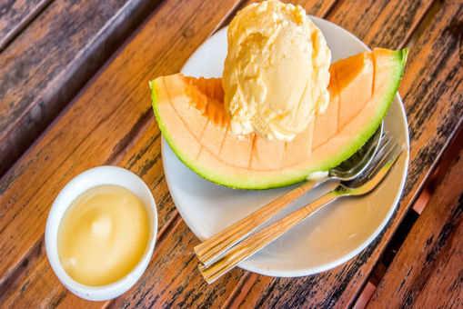 Muskmelon Ice Cream