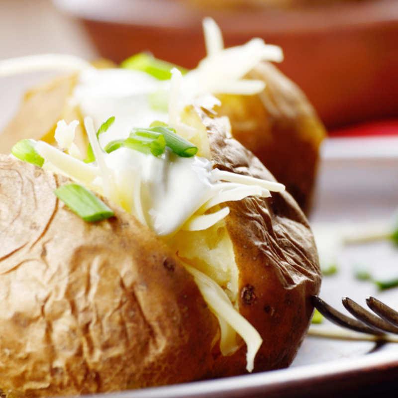 Microwave Jacket Potato Recipe How To Make Microwave Jacket Potato Recipe Homemade Microwave Jacket Potato Recipe