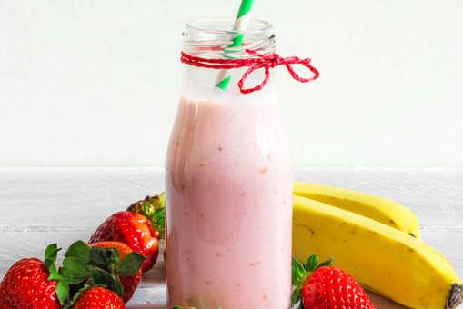 Strawberry Soya Smoothie