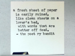 The Poetry Bandit/ Jon Lupin
