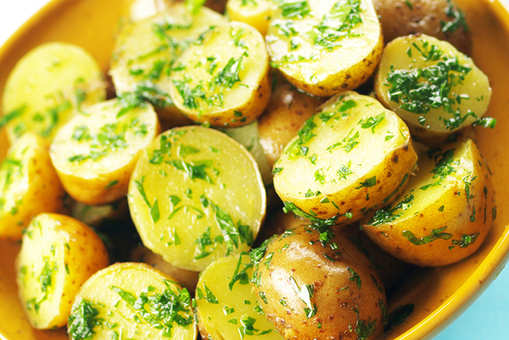 Stir-fried Parsley Potatoes