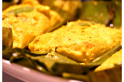 Baked Fish in Banana Leaf