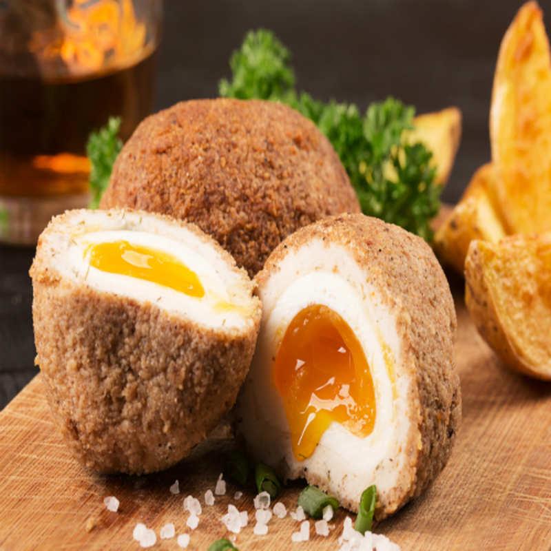 Scotch Egg Recipe: How to make Scotch Egg Recipe at Home | Homemade Scotch  Egg Recipe - Times Food